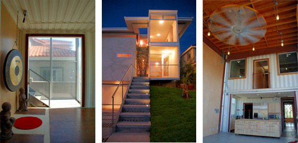 Redondo Beach House, green building, sustainable building, green home, sustainable home, demaria designs, shipping container house