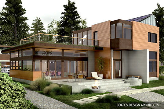 Ellis residence leeds the way in puget sound inhabitat for Pnw home builders