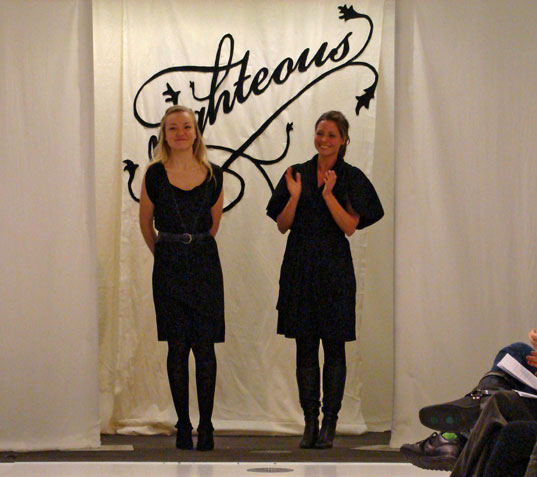RIGHTEOUS ECO FASHION: Fall 2008 Collection