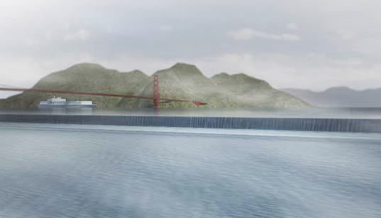 sustainable design, green design, global warming, architecture, rising tides competition, Folding Water, Kuth Ranieri Architects