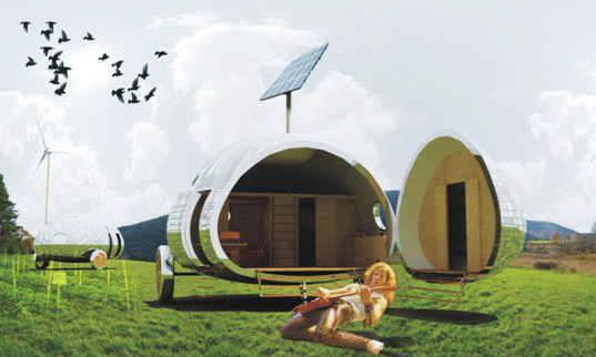 rolling stones dwelling, andes sprouts society, small is beautiful, nice architects sustainable design, green building, sustainable architecture, self-sufficient architecture, rv trailer, recycled materials