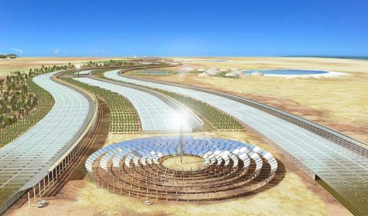 Sahara Forest Project Converts Desert into Oasis