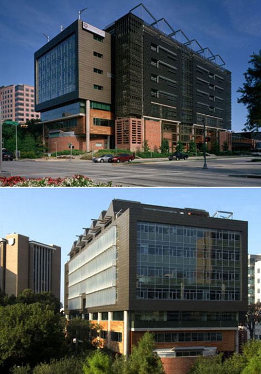 School Of Nursing, Ed Mazria, Photos courtesy Design Workshop Inc, Metropolis Magazine, Architecture 2030, AIA, Sustainable Architecture, Green Architecture, Environmental Architecture, Eco-friendly architecture, Energy Savings Buildings