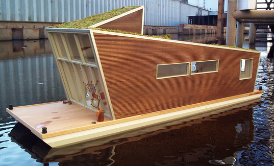 Schwimmhaus The Sustainable Modern Houseboat