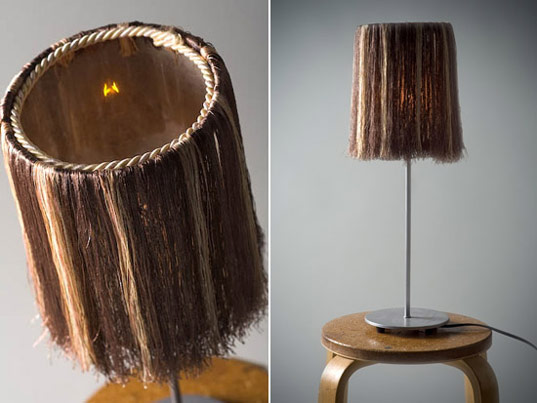 Shaggy lamp by Scrap Lab, Black Nest by Scrap Lab, scrap lab, scraplab, scrap funiture, eco furniture, recycled materials furniture, re-purposed materials furniture, industrial scraps furniture, industrial waste furniture, eco friendly furniture, green furniture, leftover materials furniture