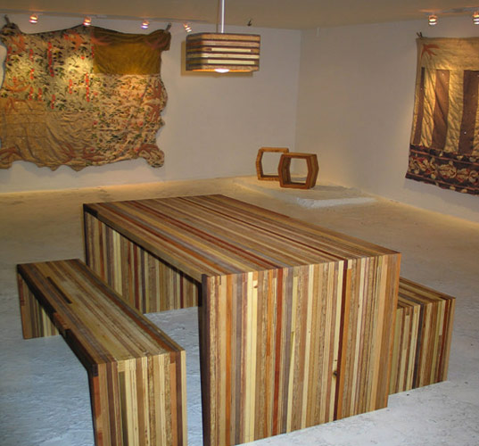 Interview Inhabitat Chats With Recycled Wood Designers