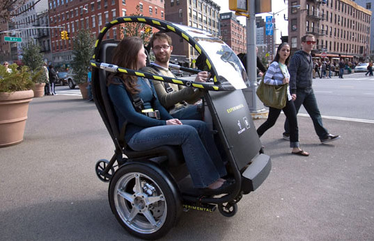 Project P.U.M.A (which stands for Personal Urban Mobility and Accessibility), PUMA, Segway PUMA, Segway P.U.M.A, Project PUMA, Segway GM, Battery powered vehicle