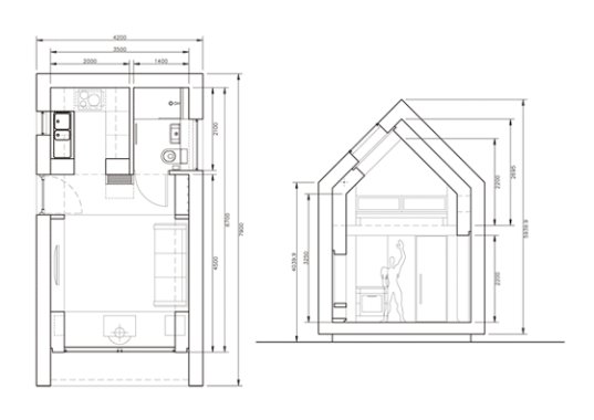 Shedforliving Blueprint « Inhabitat U2013 Green Design, Innovation, Architecture,  Green Building
