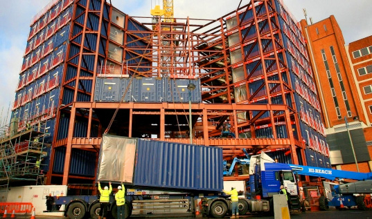 Travelodge Hotel Made From Shipping Containers