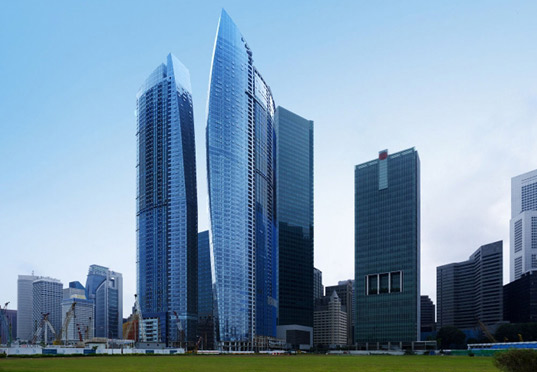 Image result for singapore sail shaped building