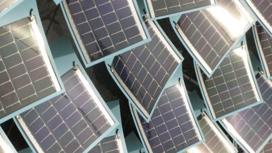 Solar Ivy Photovoltaic Leaves Climb To New Heights