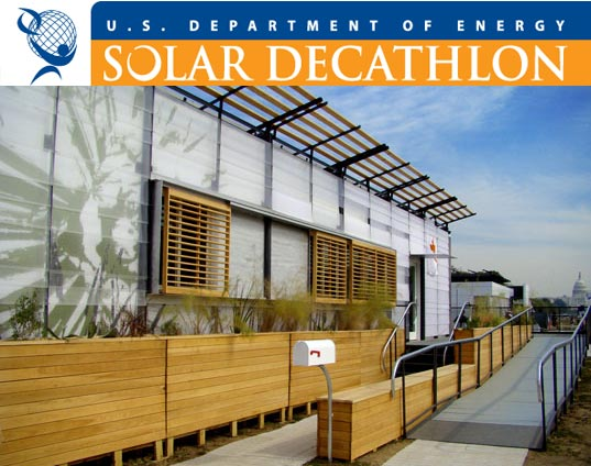 solar decathlon 2009, us department of energy, solar powered residence, sustainable design, green design, sustainable architecture, energy efficient housing