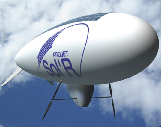 Solar Powered Blimp Set to Fly Across English Channel