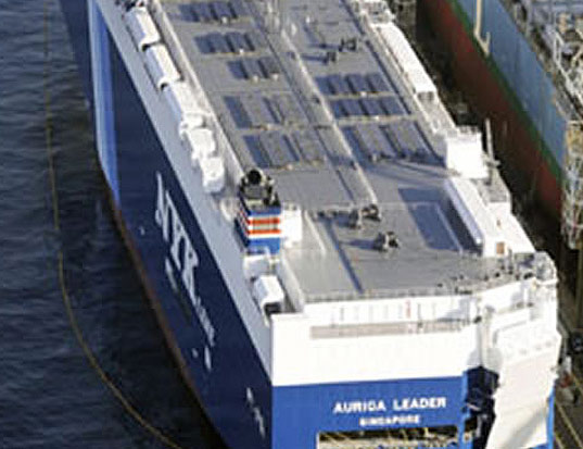 World S First Cargo Ship Propelled By Solar Panels