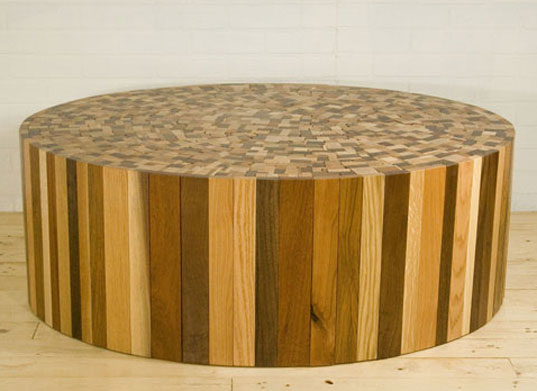 Uhuru, Stoolen Lite, Scrap Wood Table, BKLYN Designs, HauteGreen, Green  Furniture, Sustainable Furniture, Brooklyn Designers « Inhabitat U2013 Green  Design, ...