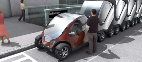 Transportation Tuesday: MIT's Stackable City Car