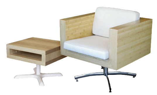 eco office furniture. designer chris nardone told us u201cweu0027ve been using dropoff woods from local woodshops acrylics plastic manufacturers and reusable parts in eco office furniture