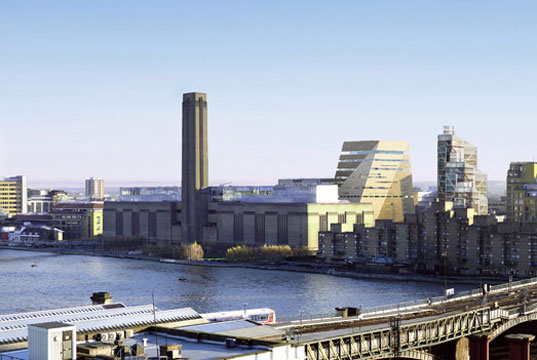 Tate Modern, Tate Modern Extension, Tate Modern Herzog & de Meuron, Tate Modern brick redesign, Tate Modern energy efficiency, London green building, CO2 emissions London, green building CO2 emission, passive energy design London, sustainable design London, tatemod2.jpg