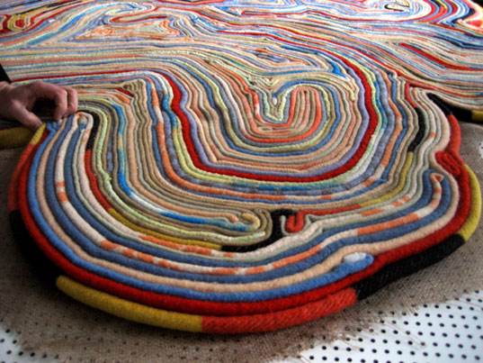 Tejo Remy Rene Veenhuizen Recycled Rug Rug From