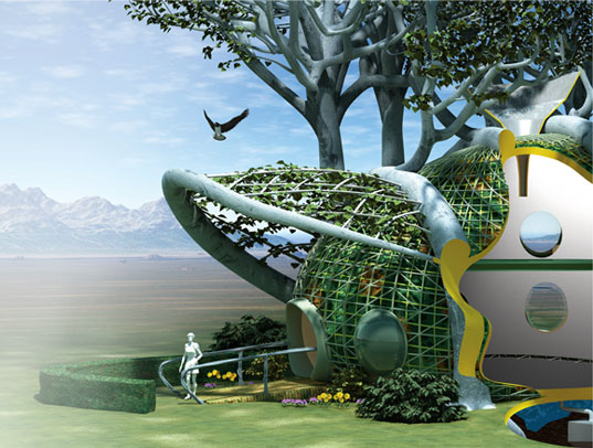 Future Tree Houses living tree house | inhabitat - green design, innovation