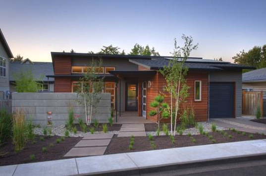 LEED, LEED Platinum, LEED Platinum Residence, Oregon, Arbor South Architecture, sage residence arbor south, arbor south architecture, pacific northwest architecture, solar panels, solar hot water, recycled paper countertops, daylighting