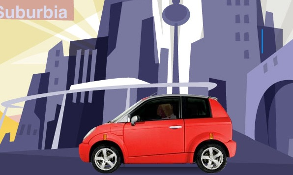 Super Cute Electric Zero Emissions Think Car Inhabitat Green