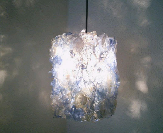 This Light Made From Recycled Plastic Bottles