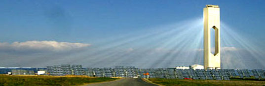 Seville Solar Power Tower, Photovoltaic Tower in Andalucia
