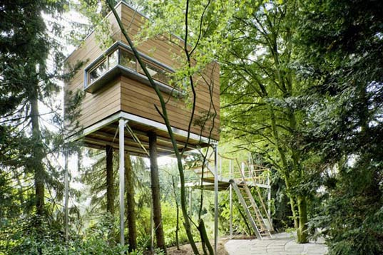 Baumraum Stunning Treehouse Designs From Germany