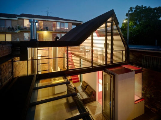vader house, maynard architects, sustainable architecture, green building, green renovation, Melbourne vader house, materials reuse