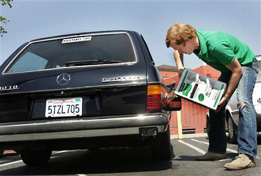 FRY POWER: How to Convert Your Car to Run on Vegetable Oil