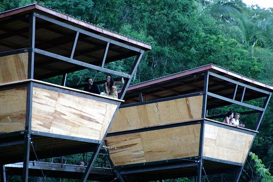 Prefabricated Shelters Offer A Jungle Eco Retreat