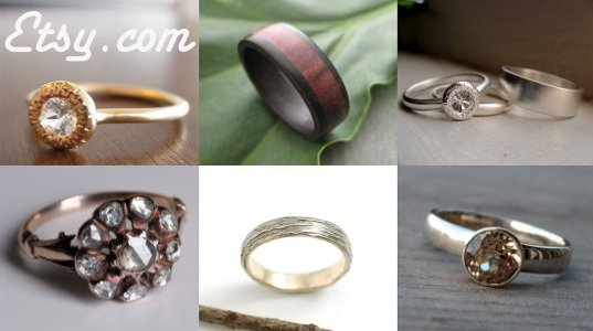 eco friendly rings, eco friendly wedding, inhabitat green wedding series, green wedding, green marriage, environmentally friendly rings, environmentally friendly jewelry, green wedding, wedding rings, engagement rings