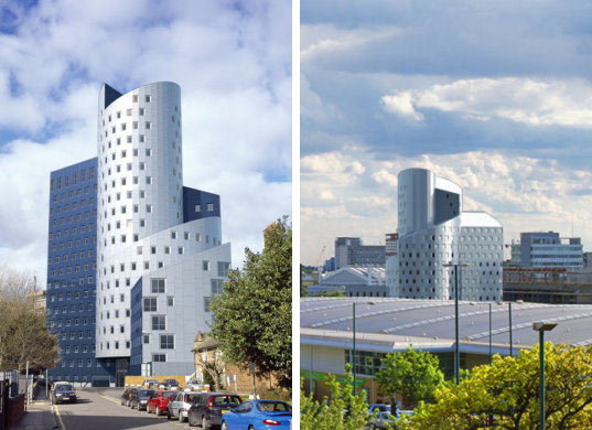 wembly tower, sustainable architecture, green building, green design, energy efficient architecture, czwg, sustainable student housing, solar skyscraper, photovoltaic panels