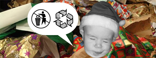 Recycle Your Holiday Wring Paper Innovation
