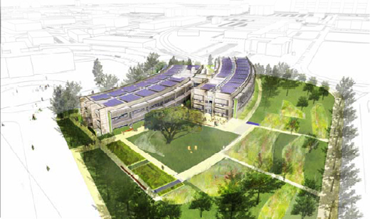 Sustainable Building, NASA, Sustainbility Base, WM+P, Green Building, William McDonough + Partners