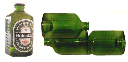 WOBO, world bottle, Heineken, John Habraken, Rinus van den Berg, Alfred Heineken, Netherlands, Amsterdam, upcycling, cradle to cradle, Garbage Building, Martin Pawley