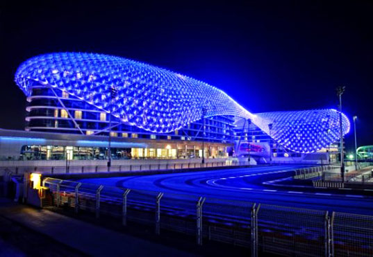 World S Largest Led Project Completed In Abu Dhabi