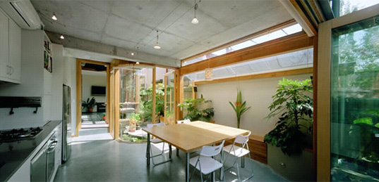Zen Architects, Zen House Australia, North Carlton Green House Australia,  North Carlton Green