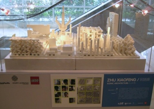 Building Asia Brick by Brick, ArtAsiaPacific Magazine, People's Architecture Foundation, LEGOs, Zhu Xiaofeng for Scenic Architecture, Shanghai