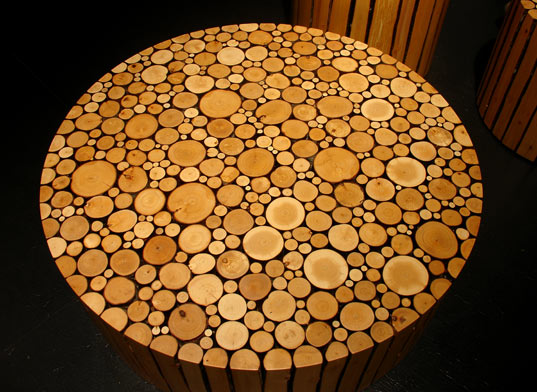 Inhabitat » Blog Archive » BRENT COMBER SHATTERED FURNITURE :  green design shattered sustainable design comber