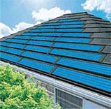 BIPV, Building Integrated Photovoltaics, Solar power roof shingles, solar power house cladding, solar power roof tiles, green building, environmentally friendly architecture