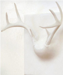 Holiday gift guide for your quirky uncle inhabitat for Ghost antler coat rack