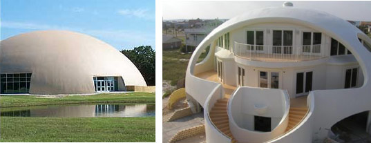 Hurricane resistant housing monolithic domes inhabitat for Hurricane proof house plans