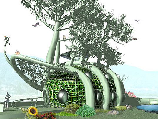 Terreform, TeREForm, Michael Sorkin, Mitchell Joachim, Postopolis, Future-forward green design, green architecture, living tree house, growing treehouse, living architecture, fab tree hab, sustainable design