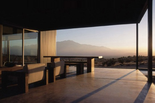 Marmol Radziner, Leo Marmol, Desert Prefab, Steel Prefab, Desert Architecture, Palm Springs, green prefab architecture, sustainable prefab architecture