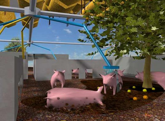 MVRDV, Pig City, Pig Farming, Netherlands, Sustainable Architecture