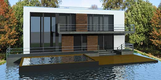 Koen Olthius, Waterstudio, Waterstudio.nl, Amphibious Houses, floating houses