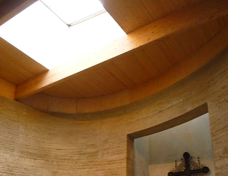 Sacred Soil: Berlin's Rammed-Earth Reconciliation Chapel is Part of the Berlin Wall Memorial