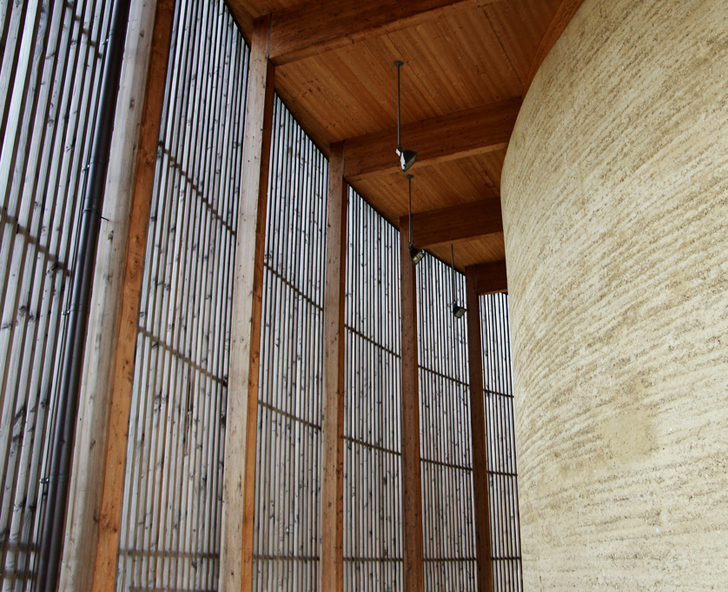 Sacred Soil Berlin S Rammed Earth Reconciliation Chapel